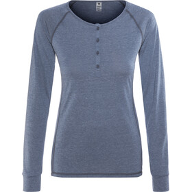Black Diamond Attitude - T-shirt manches longues Femme - bleu